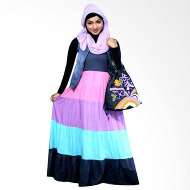 kampung-souvenir_kampung-souvenir-long-summer-pink-purple-dress-muslim_full01 Review Daftar Harga Dress Muslim Sehari Hari Paling Baru bulan ini