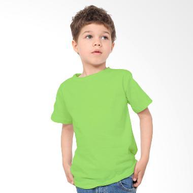 KaosYES Kaos Polos T-Shirt Anak - Hijau Muda