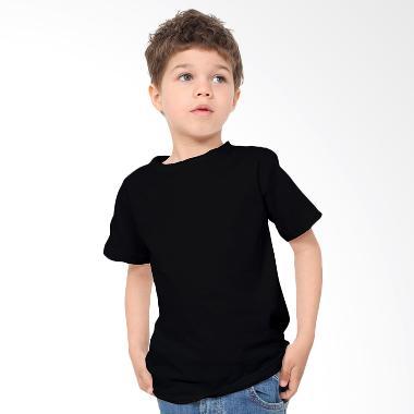 KaosYES Kaos Polos T-Shirt Anak - Hitam