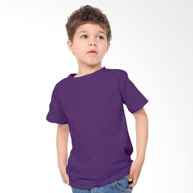 KaosYES Kaos Polos T-Shirt Anak - Ungu Tua