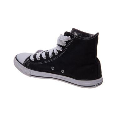 Kappa How Low Hi Black White K11DFC922 Sepatu Casual