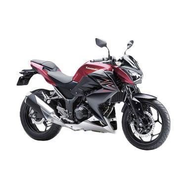 Kawasaki Z250 Sepeda Motor - Merah
