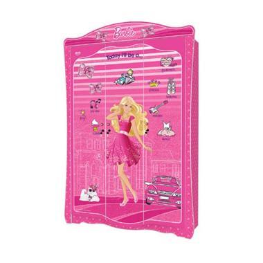 Kea Panel Barbie-WD-BB-3.180-ILN Wardrobe 3 Pintu [Khusus Jabodetabek]