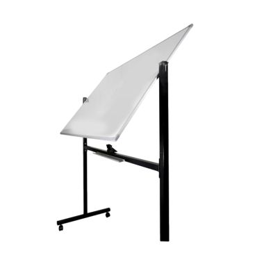 Keiko White Board Double Face Stand Papan Tulis [60 .