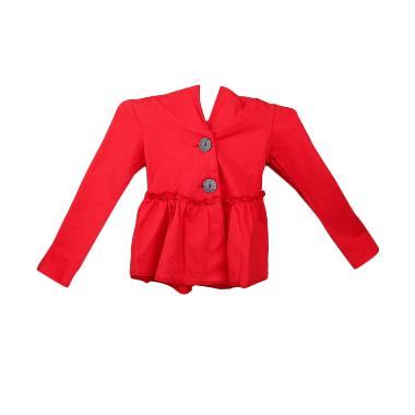 Keinna Milano Hoodie Jacket - Red