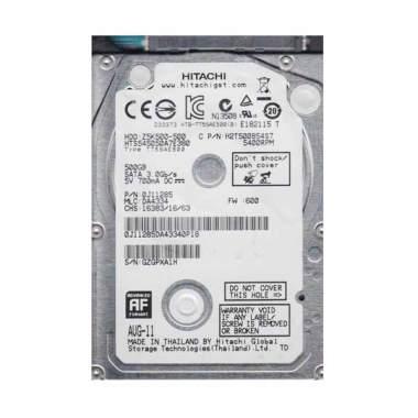 Hitachi Harddisk Internal 500GB 540 ...