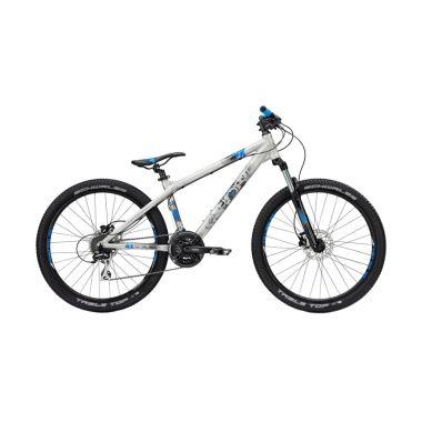 Ghost 4X Comp Raw Blue Bike Sepeda  ...