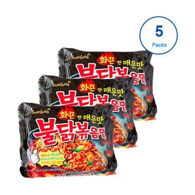 Samyang Ramen Fried Hot Chicken Mie Instan [5 set]