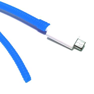 Keprot Charger Cord Protector Blue Cable Protector [40 cm]