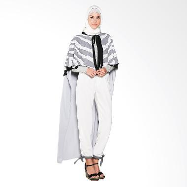 KIA by Zaskia Sungkar Faiqah Cape Atasan Muslim - Motif Grey