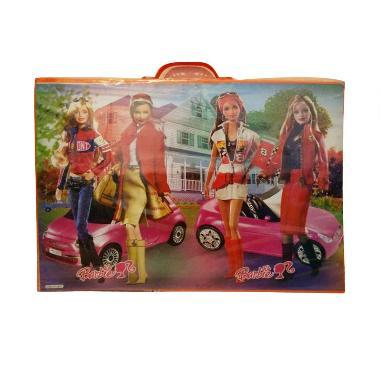 Kid Toys Meja Gambar Barbie Racing Cars