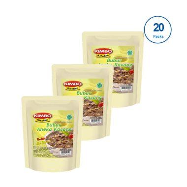 harga Kimbo Kitchen Bubur Aneka Kacang Makanan Siap Saji [20 pcs] Blibli.com