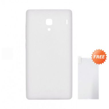 Max Premium Original Jelly Case Clear Casing for Xiaomi Redmi 1S + Screen Guard