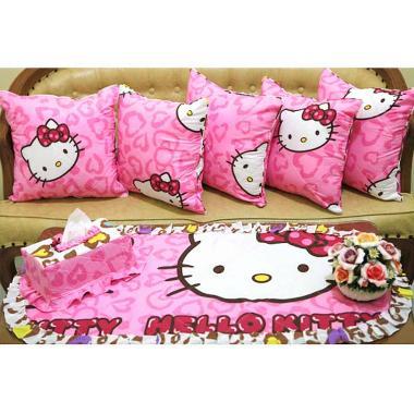 Kingsprei HK Leopard Set Sofa - Pink