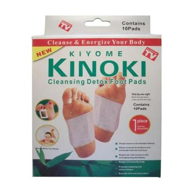 Kinoki Koyo Detox - Putih [ 10 Pads 5 Pasang ]