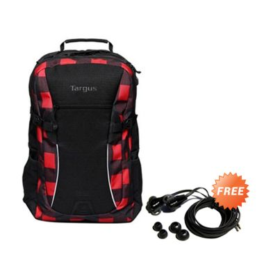 Targus Sport 26L Plaid BAP0031-01 M ... ptop [16 Inch] + Earphone