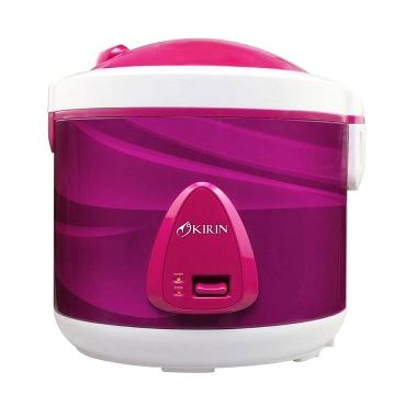 Kirin KRC-138 Rice Cooker - Purple [2 L]