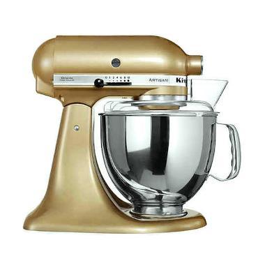 Kitchen Aid 5KSM150PSECZ Artisan Se ... and Mixer - Golden Nectar