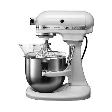Kitchen Aid Lift Stand Mixer - White [4.8 L/2 Bowls]
