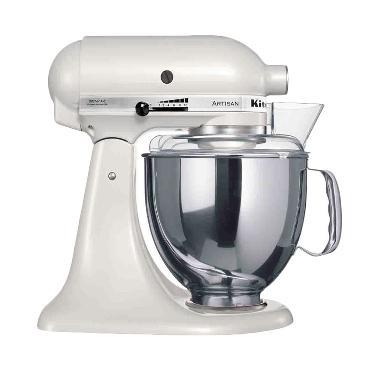 KitchenAid 5KSM150PSE Head Stand Mixer - Putih