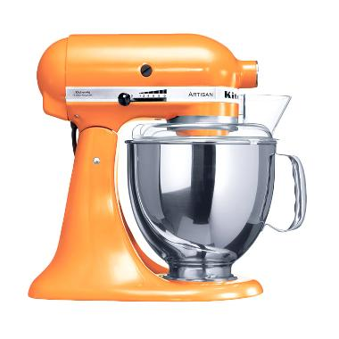 KitchenAid 5KSM150PSE Head Stand Mixer - Tangerine