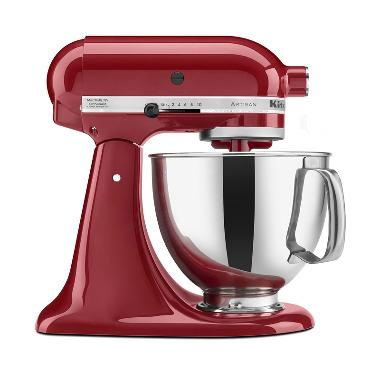 KitchenAid 5KSM150PSEER Series Artisan Mixer - Empire Red