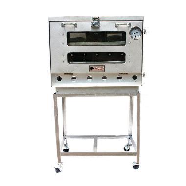 Kiwi Oven Gas Alat Pemanggang - Silver [60 cm]