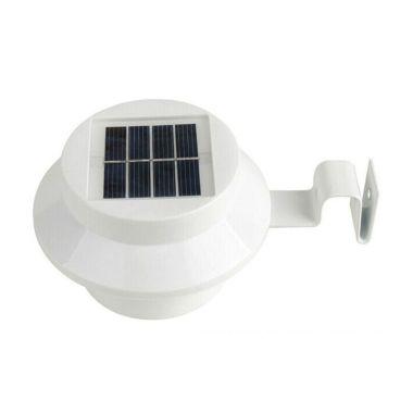Klikmystore Pagar Solar Putih lampu ...