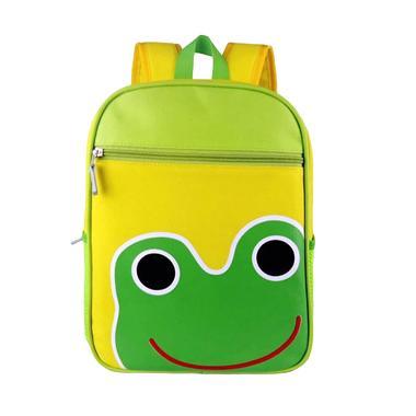 Korean School Frog Backpack Anak - Green