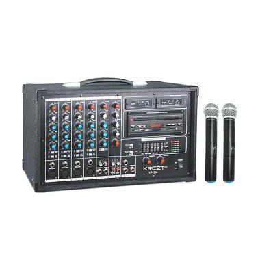 Krezt KA-200 Portable Amplifier System Audio Mixer