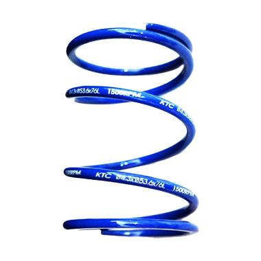 harga KTC Per CVT Honda Beat / Scoopy / Vario 125 Old 1500 RPM - Biru - Aksesoris Motor - Variasi Motor Blue Blibli.com