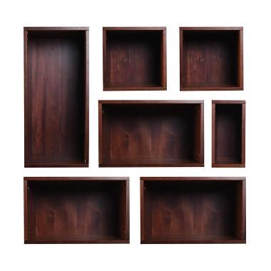 KIF Furniture Layla Box KIFF-LYL-BOX Rak Serbaguna - Brown