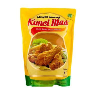 Kunci Mas Minyak Goreng Pouch [2000 ml x 2 Pouch]