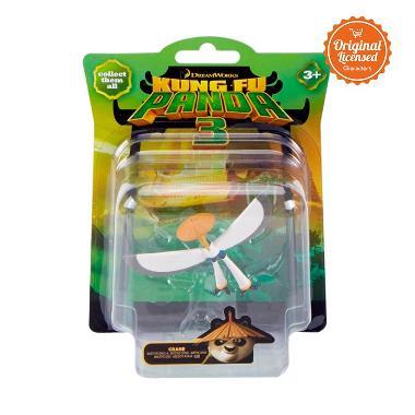 Kung Fu Panda 3 - Collectible Figurine Single Pack Crane Mainan Anak
