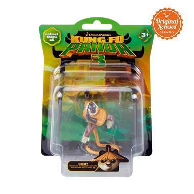 Kung Fu Panda 3 - Collectible Figurine Single Pack Monkey Mainan Anak