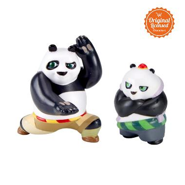 Kung Fu Panda 3 Collectible FigurineTwin Pack Po & Bao Mainan Anak