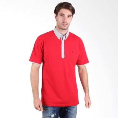 Labette Polo Shirt Red 102462207    ...