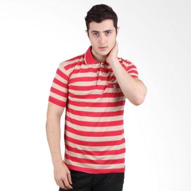 Labette Polo Shirt Red Stripe 15333 ...