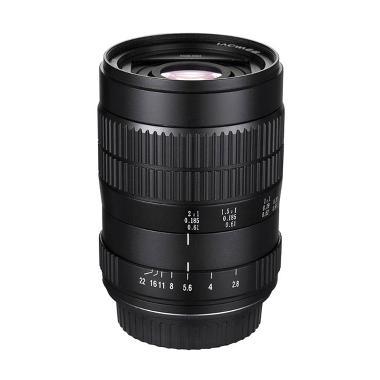Venus Optics Laowa 60mm f-2.8 2X Ultra-Macro Lens for Canon EF - Hitam