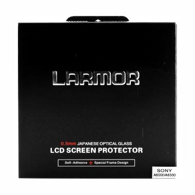 Larmor LCD Screen Protector for Sony Alpha A6000 or A6300