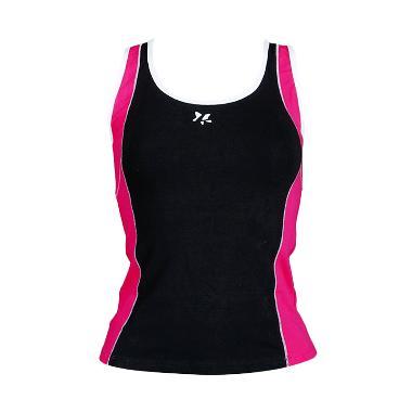 Lasona BRP-2850-C Baju Atasan Panjang Senam Wanita - Black Pink10