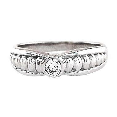 Lavish R13209 Berlian Emas Putih 18K Cincin