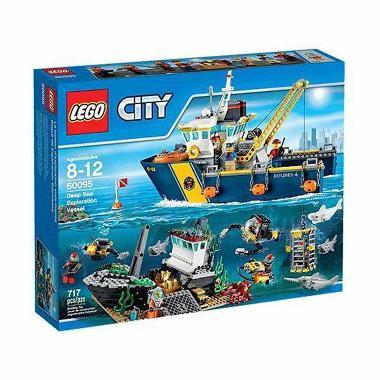 LEGO City 60095 Deep Sea Exploration Vessel Mainan Anak