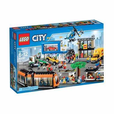 LEGO City 60097 City Square Mainan Anak