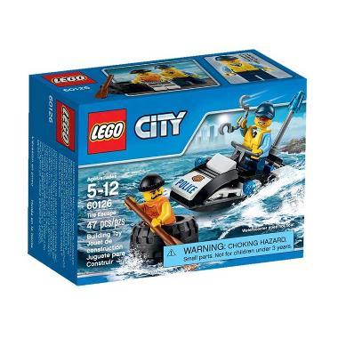 LEGO City 60126 Tire Escape Mainan Blok & Puzzle