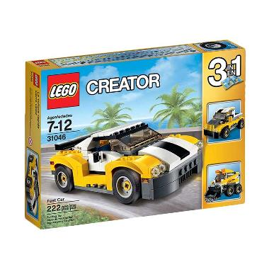 LEGO Creator 31046 Fast Car Mainan Anak