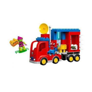 LEGO Duplo 10608 Spiderman Spider Truck Mainan Anak