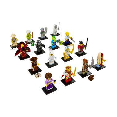 Complete Full Set 16 karakter LEGO  ... s 13 Mainan Blok & Puzzle