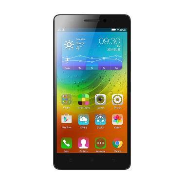 Lenovo A7000 Plus Smartphone - Black [16GB/ 2GB/ 4G LTE]