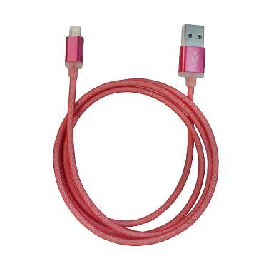 Lexcron Fishing Net Lightning Kabel ... or iPhone 6 - Merah [1 m]